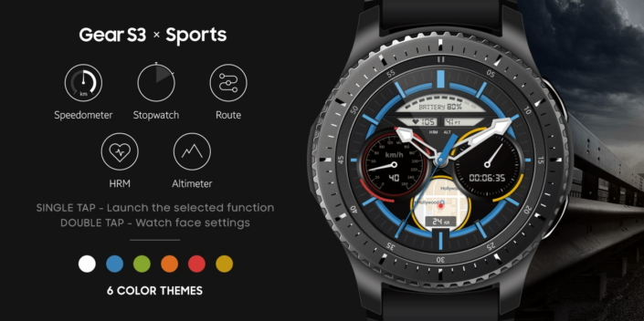 Favoloso Samsung Gear S3: disponibili le nuove watchface Sports, Outdoor e  ZY78