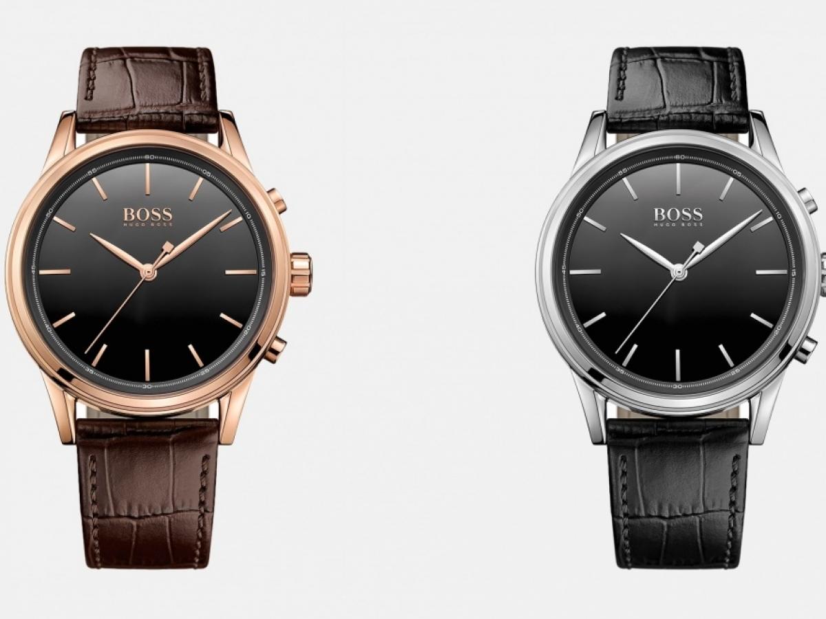 Hugo boss presenta smart classic un orologio analogico for Orologio della samsung